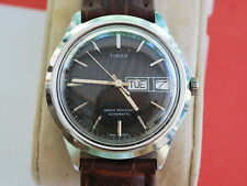 Nice Vintage Big Size TIMEX Automatic Men's Watch w/Date & Day