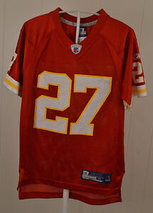 more photos 4aa2a 3f003 Details about Reebok Kansas City Chiefs Jersey #27 Larry Johnson NFL Youth  Medium (10-12) Red