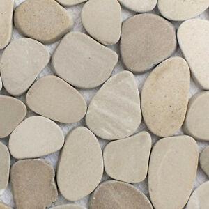 Fesselnd ... Flache Mosaik Fliesen Dusche Kieselmosaik 1 Matte 30x30