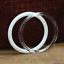 """thumbnail 6 - Plastic Acrylic Craft Rings (Pack of 6) Choose Color & Size 1.75"""", 3"""", 4"""" or 5"""""""