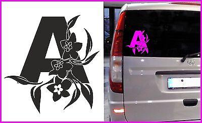 "Auto-Aufkleber ""Anfänger"" Aufkleber Fahranfänger ""floral"" Auto (2-1029)"
