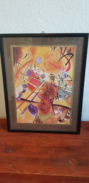Plakat , Wassily Kandinsky, motiv: Small dream in red, b:…