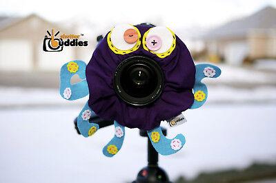 Shutter Buddies Oscar Octopus Camera Lens Accessory With Squeaker Het Comfort Van Het Volk Aanpassen