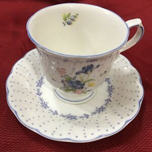 Image Is Loading Nikko Tableware Japan Blue Peony 1 Tea Cup