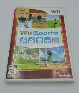Wii Sports (Wii, 2006) Nintendo Selects With Hard Case - Free Shipping