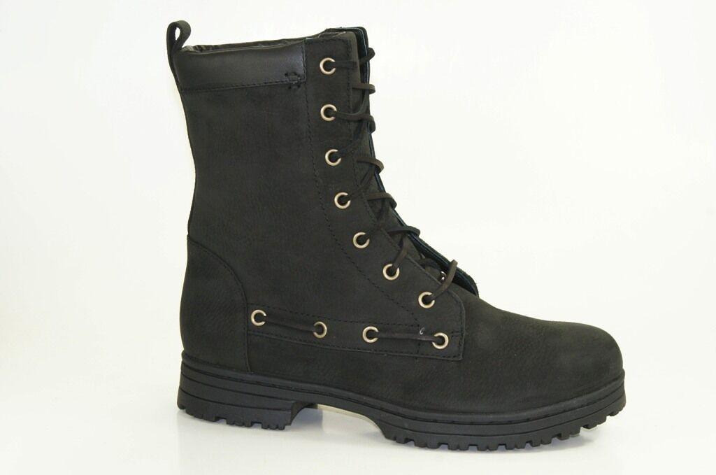 Sebago Botines Dorset Encaje Botas Zapatos De Invierno Zapatos Mujer b512100