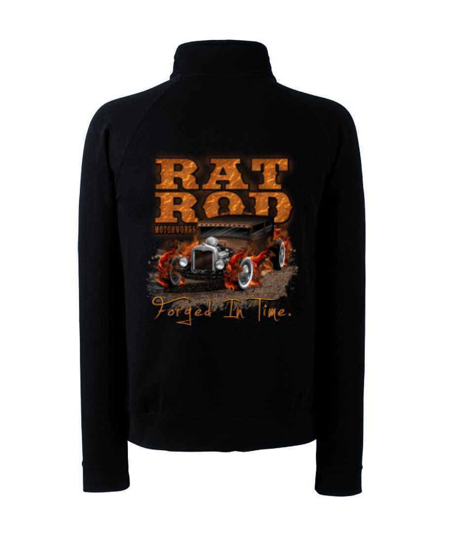 Zip Sweater with Hot Rod US Car & `50 Style Emotiv Model Rat Rod