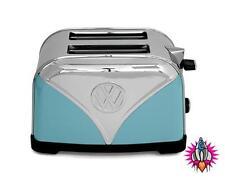 VW VOLKSWAGON Camper Van Tostapane in acciaio inox blu