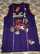 100% Authentic Nike Vince Carter #15 Rookie Toronto Raptors Jersey L Length +2