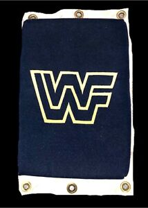 WWE-OFFICIAL-AUTHENTIC-OLD-SCHOOL-RING-USED-WWF-TURNBUCKLE-PAD-VERY-RARE