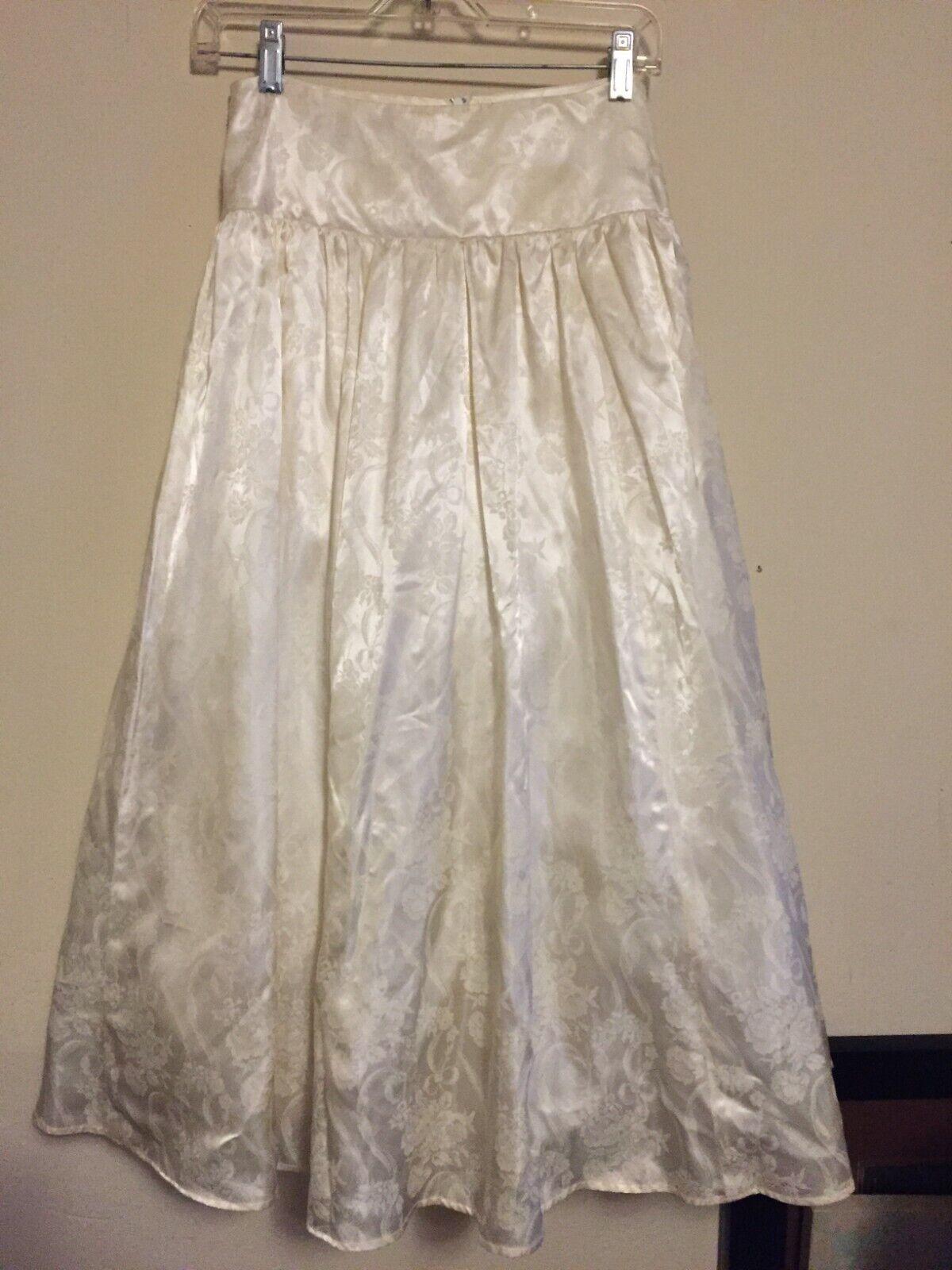 VINTAGE Jessica McClintock Crinoline Skirt 80s - image 1