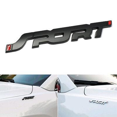Fashion SPORT Emblem Trunk Fender Badge Sticker Car Metal 3D Logo Stickers Hot