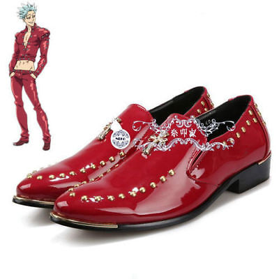 New! The Seven Deadly Sins Greed Ban Cosplay Shoes Custom Made  .1006