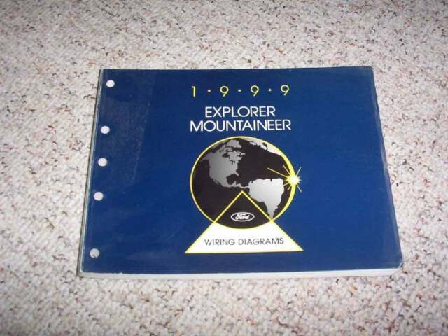 1999 Ford Explorer Electrical Wiring Diagram Manual Sport