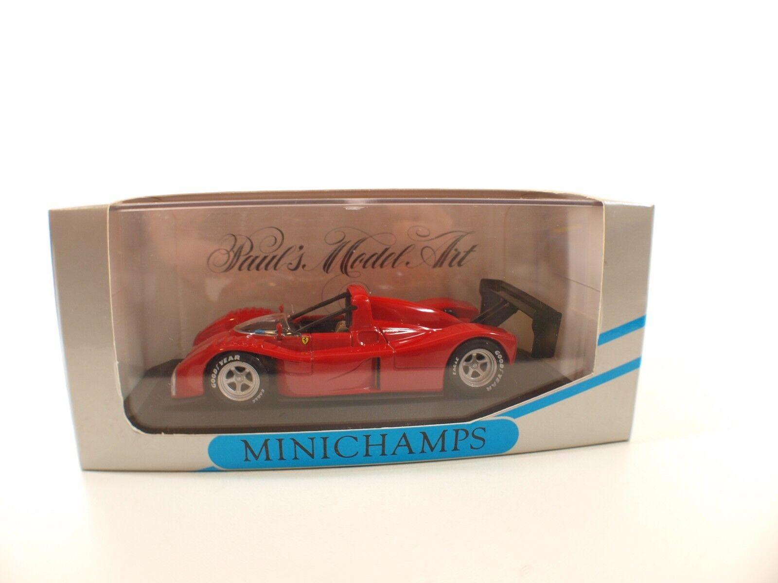 Minichamps Ferrari 333 SP IMSA-WSC 1994 Presentation neuf MIB 1 43
