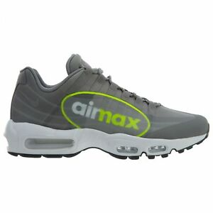 Details about Nike Air Max 95 NS GPX Mens AJ7183 001 Dust Volt Big Logo Running Shoes Size 13