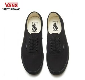 Details zu VANS Authentic Black Classic Canvas Street Style Fashion Sneakers,Shoes Men's