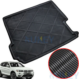 For BMW X3 F25 2011-2017 Boot Cargo Liner Trunk Luggage Tray Floor Mat Carpet