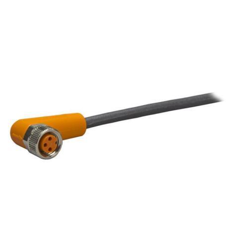 3-polig EVC145 5 m PUR-Kabel ifm electronic Sensorleitung M8 abgewinkelt