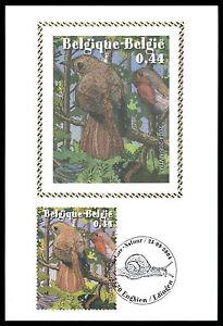 Belgique Mk 2004 Oiseaux Oiseau Birds Maximum Carte Carte Maximum Card Mc Cm Al82-afficher Le Titre D'origine Facile à RéParer
