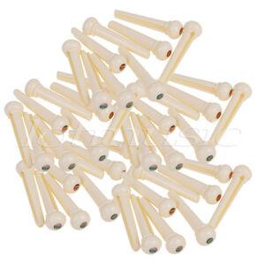 100pcs-Cream-Bridge-Pins-for-Acoustic-Guitar-String-Pins-Plastics