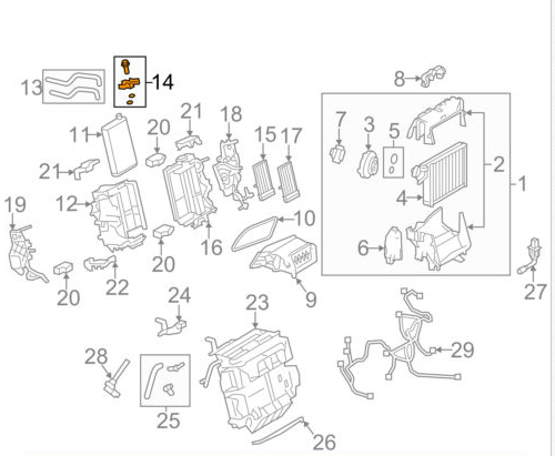 Audi A4 B8 Heater Core Pipe Gasket 8k0898967 Genuine For Sale Online