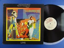 SPIRIT - SPIRIT LIVE illegal UK Lp EX+