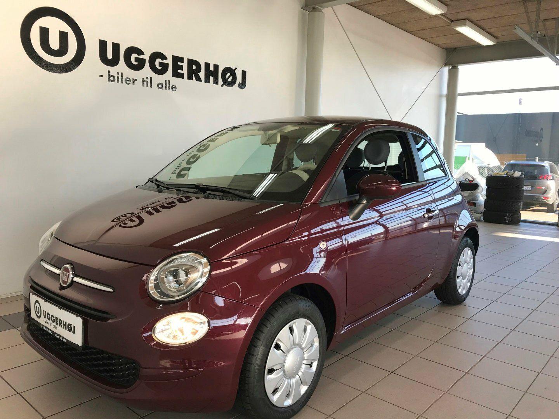 Fiat 500 1,2 Pop 3d - 79.900 kr.