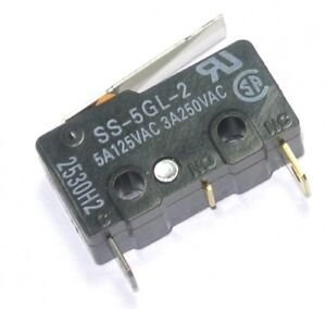 D45X CHERRY Switch D459-PAAA-G2  Snap Action N.O.//N.C SPDT Button PC Pins