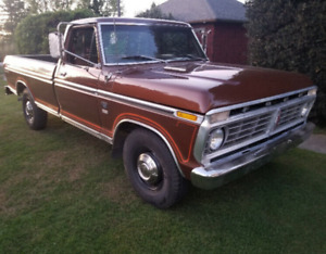 1975 Ford F 250 Camper Special