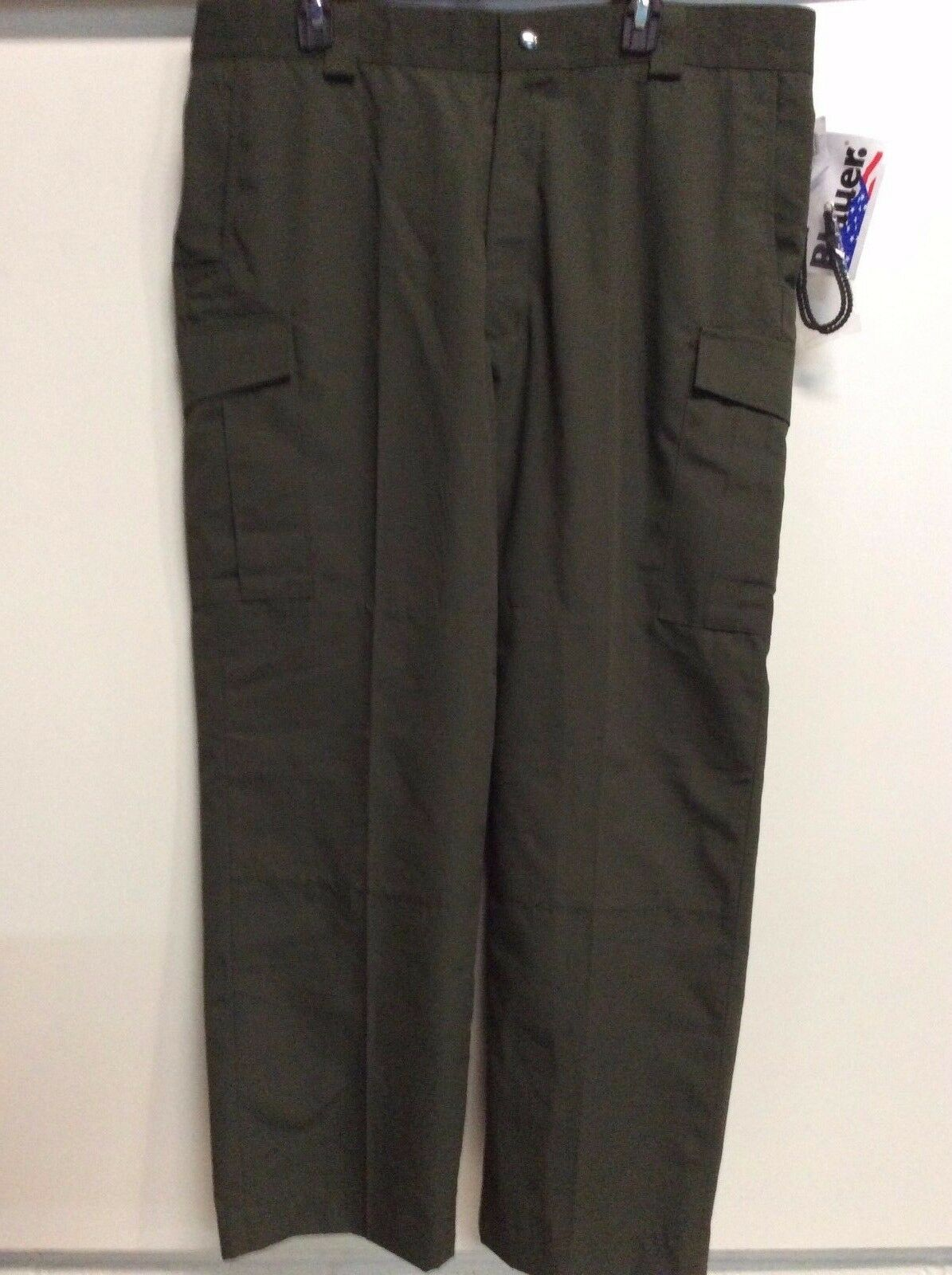 Men's blueer LEO Tactical Swat OD Green Police 8830 40 R W  Boot Blousers Pants