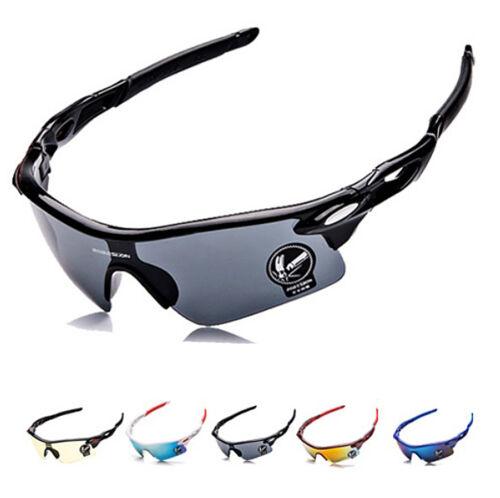 Occhiali DA SOLE SPORTIVI CICLISMO TELAIO flessibile in silicone protezione UV ACCESSORI