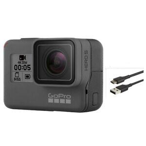 Gebrauchte-GoPro-Hero-5-black-Camcorder-Aktion-4k-12mp-Ultra-HD-Kamera-Touchscreen