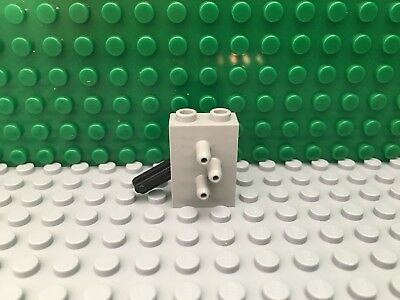 1 x Lego Technic Pneumatic Valve Neu-Dunkel Grey Switch 3 Wege Valve