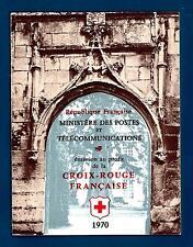 FRANCE - FRANCIA - Libretto - 1970 - Pro Croce Rossa. Affreschi chiesa Dissay
