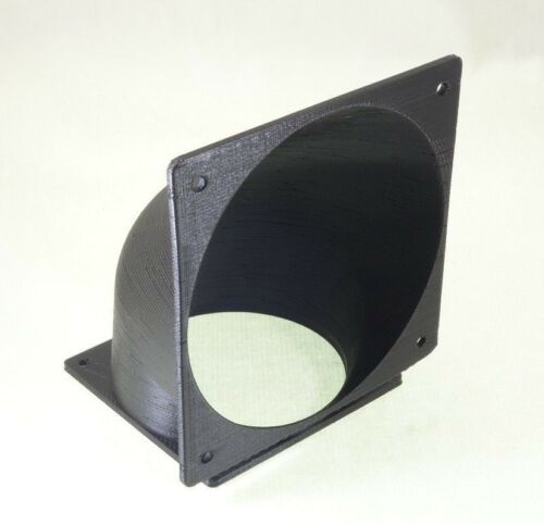 70mm to 92mm Vertical Fan Adapter Converter change mounting Modding Custom