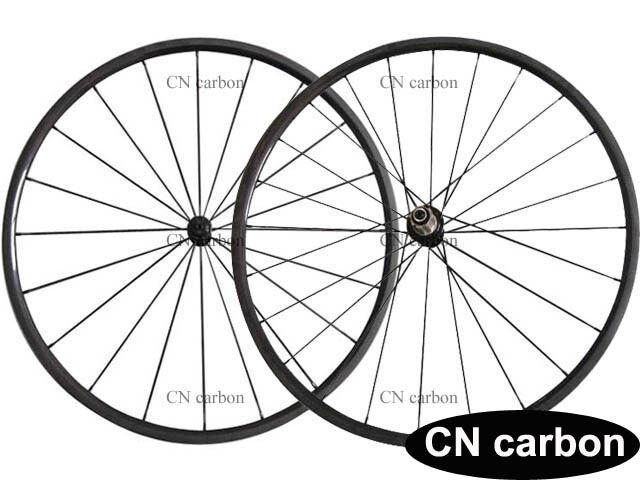 Ceramic bearing 1060g 24mm Tubular carbon bicycle wheelset