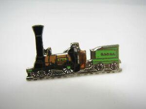 B-amp-o-Eisenbahn-Pin-Zug-Gruen-Motor-RR-Sammlerstueck