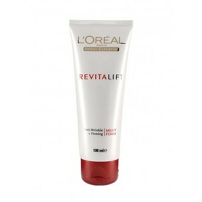 L'Oreal Paris Revitalift Milky Cleansing Foam 100g