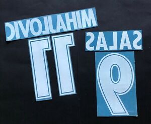 KIT-NOME-NUMERO-UFFICIALI-SS-LAZIO-AWAY-2001-2002-OFFICIAL-NAMESET-PLAYER-SIZE