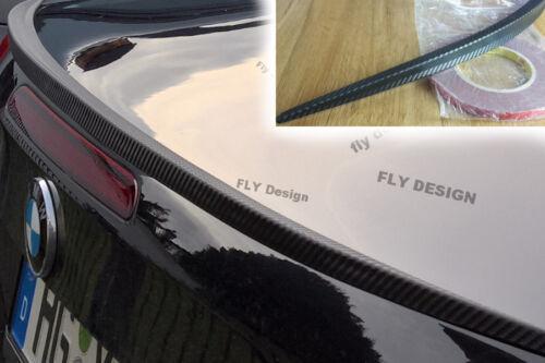 Mitsubishi Lancer tuning spoiler hecklippe Carbon Look slim LIP becqeut LEVRE