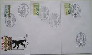 Bundespost-B-3-FDC-Speciale-stempels-Automatenmarke