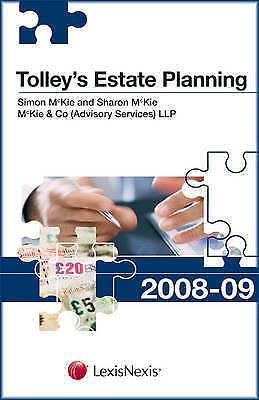 Tolleys Estate Planning 08-09 by McKie, Simon, McKie, Sharon
