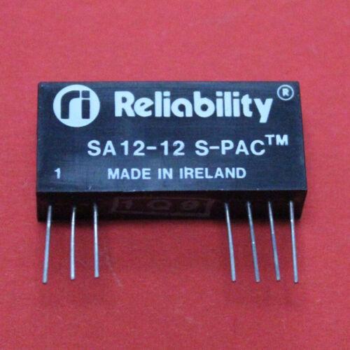 1w-en 5v-out + reliability 3 unid braguitas 12v-DC//DC-convertidor - sa12-12