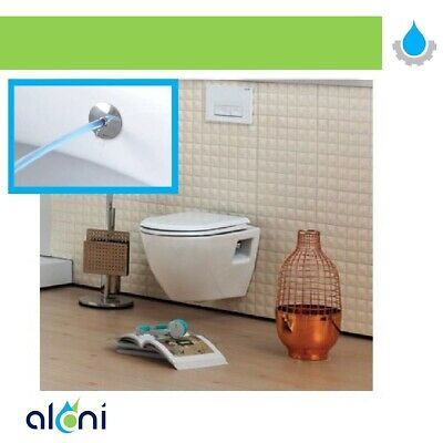 Plastik Handgehalten Toilette Adapter Spray Bidet Duschkopf Wall-Bracket Hose