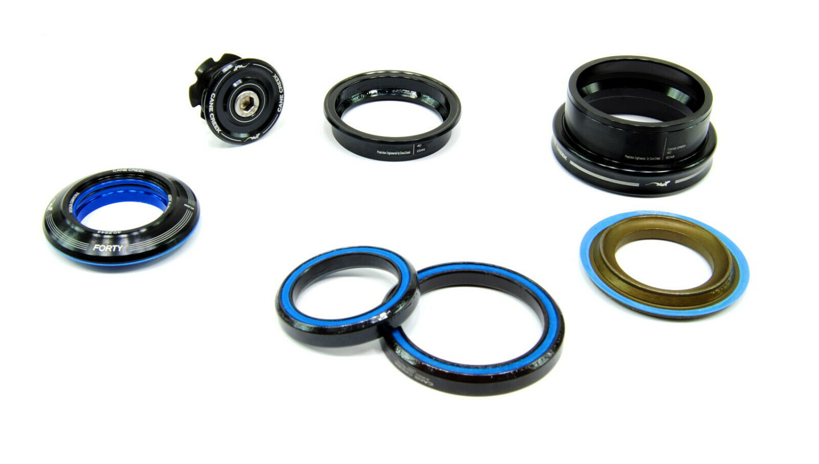 """Cane Creek 40-Series Tapered Conversion Set 1-1//8/"""" Crown Race ZS44