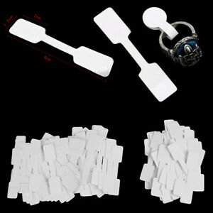 50-100Pcs-Blank-price-tags-necklace-ring-jewelry-labels-paper-stickers-JR