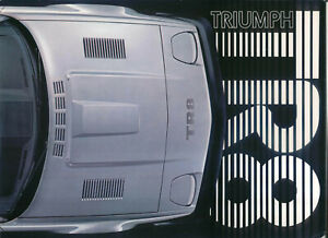 Triumph-TR8-original-6-page-card-Sales-Brochure-North-American