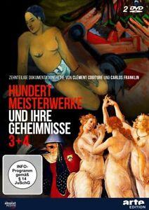 HUNDERT-MEISTERWERKE-UND-IHRE-COGITORE-CLEMENTE-FRANKLIN-CARLOS-2-DVD-NEU