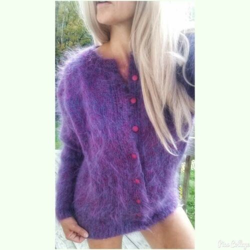 Furry+Fuzzy!! 100% Mohair Handknitted  Mohair Conf